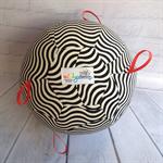 Balloon Ball: Black & White taggie. High Visual.
